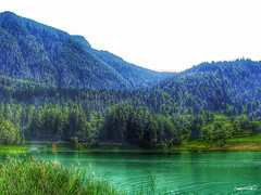 lago di montagna, mountain lake (Massimo Vitellino) Tags: lake water mountain landscape outdoors hdr colors green contrast conceptual nature