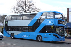 2018 03 26_6916 (djp3000) Tags: bus doubledeckerbus nct nctskyblue44 skyblue44 biogasbus nottinghamcitytransport scania mapperley 44 skyblue