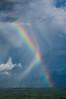 Rainbow hitting OGG runway (ArneKaiser) Tags: hawaii maui rainbow clouds sky weather