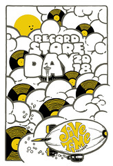 Jive Time ~ Record Store Day 2018, poster