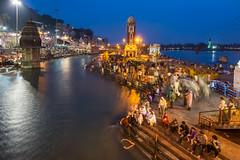 Haridwar (Ashmalikphotography) Tags: harharhange gange bluehour longexposure surreal ashishshoots ashmalikphotography ashmalik haridwar religious hinduism clocktower bath holybath holydip india incredibleindia