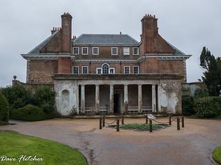 Uppark House on a rainy day