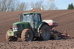 John Deere 6920S Tractor with an Alpego Power Harrow and Kverneland Accord DA-S Seed Drill (Shane Casey CK25) Tags: john deere 6920s tractor alpego power harrow kverneland accord das seed drill jd midleton onepass one pass green traktor trekker traktori tracteur trator ciągnik sow sowing set setting drilling tillage till tilling plant planting crop crops cereal cereals county cork ireland irish farm farmer farming agri agriculture contractor field ground soil dirt earth dust work working horse horsepower hp pull pulling machine machinery grow growing nikon d7200
