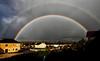 Arc-en-ciel double d'hier soir. Auxerre (jjcordier) Tags: rainbow arcenciel météorologie