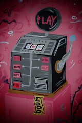 London Street Art 2018/038 (gary8345) Tags: jesswilson 2018 uk unitedkingdom greatbritain britain england london southlondon croydon londonist graffiti streetart urbanart art artistic artist snapseed