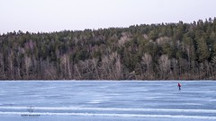 Meanwhile... Spring in Sweden (Ramy Maalouf) Tags: frozen lake sweden sverige suède suecia spring north scandinavia scandinavian winter ice skating lago congelado lac congelé frio cold froid stockholm sollentuna lumix photography landscape panasonic dmcgx7 1442f3556 ii kit lens