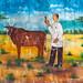 Veterinary vaccination advertisement poster, Woqooyi Galbeed region, Hargeisa, Somaliland