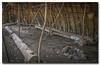Inside Native American lodge.. (Roger Photos) Tags: nef naturalbridge native americans virginia