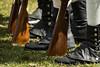 At Ease (lclower19) Tags: feet spats patriotsday dress rehearsal lexington massachusetts muskets