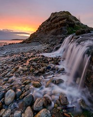 Osmington Mills in Dorset (Chris Jones www.chrisjonesphotographer.uk) Tags: portland weymouth beach erosion coast coastline jurassic sunset ocean waterfall seascape sea photographer jones chris uk england west south dorset mills osmington