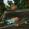 Visual art on streets. Rangoli on the road by villagers as part of a festival. #krishnautsav #shigmo  #streetphotography  #streetart #visualart #rangoli #culture #traditional #colour  #streetstyle  #GoaDiaries  #travelphotography  #india (LoonyMoonstar) Tags: colour streetstyle visualart streetart india traditional rangoli krishnautsav travelphotography streetphotography goadiaries culture shigmo