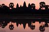 Angkor Wat (D. R. Hill Photography) Tags: angkorwat angkor wat temple cambodia asia southeastasia sunrise dawn silhouette reflection water lake travel nikon nikond750 d750 nikon50mmf14g 50mm primelens fixedfocallength