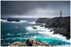 Swelling Seas do shake (ShaunXVII) Tags: ness butt lewis isleoflewis outerhebrides lighthouse atlantic sea ocean storm swell rock cliff longexposure westernisles highlandsandislands scottishislands scotland moody wild wilderness