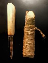 #knife #Woodcraft #whittling #ash #mora #frost (vonbylov) Tags: knife woodcraft whittling ash mora frost
