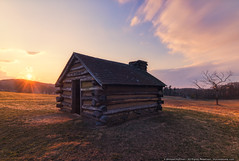 Valley Forge National Historical Park (mhoffman1) Tags: continentalarmy generalgeorgewashington nationalpark nationalparkservice pennsylvania revolutionarywar sonyalpha valleyforge a7riii encampment historic hut logcabin longexposure park sunset wayne unitedstates us