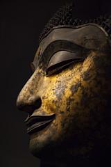 Buda. Museo nacional de Bangkok, Tailandia. (www.rojoverdeyazul.es) Tags: national museum thailand museo nacional bangkok tailandia autor álvaro bueno buda siddharta gautama cabeza gigante bronce giant head bronze