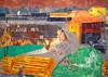 Pierre Bonnard, Braunkohlengrube (1918/20) (Weingarten) Tags: germania germany deutschland allemagne münchen neuepinakothek munich monacodibaviera peinture malerei painting pittura
