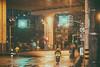 street view of shanghai (Tu_images) Tags: china city cityscape concrete dark elevated highway late midnight night rain raining rainy shanghai street traffic transport transportation urban urbanity way yananwestroad yanan