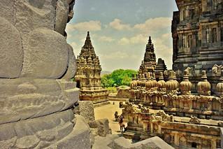 INDONESIEN, Java, hinduistische Tempelanlage Prambanan17339/9882
