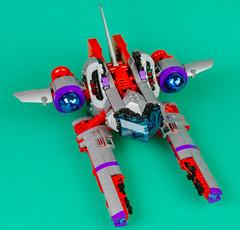 Vic Viper 2017 005 (cjedwards47) Tags: lego moc space ship vicviper