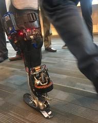A New Way to Feel Your Bionic Leg (jurvetson) Tags: stevejurvetson ted ted2018 vancouver brain spa hugh herr robo legs cyborg ami bionic