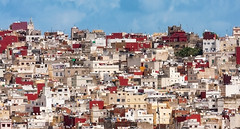 Tangier (Trouvaille Blue) Tags: africa northafrica morocco tangier maghreb medina city mosque puzzle trouvailleblue