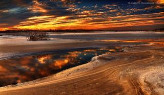 Matanzas Inlet Sunset