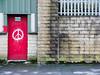 Milnesbridge 002 (Peter.Bartlett) Tags: olympusomdem1 unitedkingdom facade doorway westyorkshire colour peterbartlett urban wall urbanarte uk m43 microfourthirds kirklees lunaphoto sign huddersfield graffiti door fence england gb