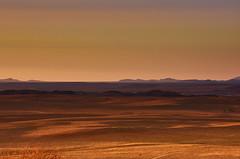 fantastic view into the distance ....... (flowerikka) Tags: desert evening landscape light mountains namibdesert namibrand namibia nature rocks rostockritz sky sun sunset valley view