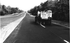 Highway Striping (StateMaryland) Tags: history historic statehighwayadministration truck work state employee road roadwork maintenance