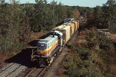 """Bay Colony """"Millis Job"""" Medfield, MA (rich.barnett63) Tags: rs1 bay colony railroad alco train"""