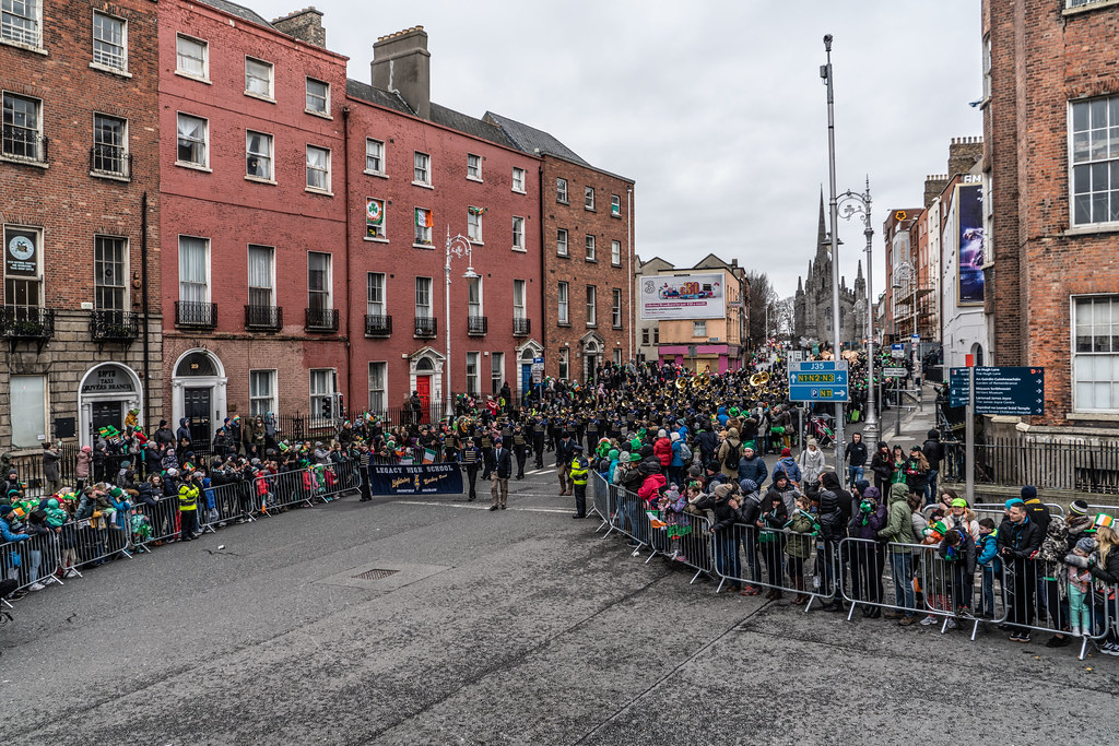 Legacy High School Lightning Marching Band [St. Patricks Day Parade 2018 In Dublin]-137526