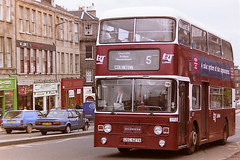 LOTHIAN REGIONAL TRANSPORT 627 GSC627X (bobbyblack51) Tags: lothian regional transport 627 gsc627x leyland atlantean alexander al edinburgh 1995
