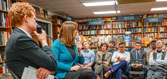 2018.03.20 Sarah McBride and Rep Joe Kennedy, Politics and Prose, Washington, DC USA 4117