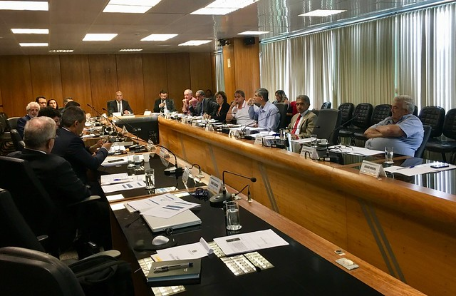 Reunião do Conselho Nacional de Previdência, realizado em 22.mar.2018