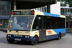 51 PE51 YHF (Cumberland Patriot) Tags: preston bus optare m850 solo 51 pe51yhf low floor midi buses route 19 royal hospitah lancshire public transport derv diesel engine road vehicle