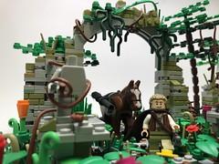 The Wanderer (lego.insomnia) Tags: lego legomoc jungle own creation afol minifigures adventure forest