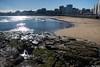 Playa de San Lorenzo (cvielba) Tags: iglesia asturias cantabrico centrohistorico cimavella gijon playa sanlorenzo