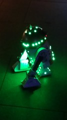 R2Disco2 (PatchouliW) Tags: ilight2018 nightphotography r2d2 starwars