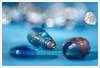 The Blues - HMM (John Penberthy LRPS) Tags: 105mm d750 johnpenberthy nikon theblues beads blue bokeh closeup macro macromondays