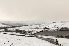 Snow on the hills-March 17th 2018 001 - Snow crossing Holme Village (Mark Schofield @ JB Schofield) Tags: south pennines snow beast east vw armarok wessenden wessendenvalley wessendenhead westnab meltham marsden moors moorland pennineway ice road winter march canon eos 5dmk4 pulehill thenationaltrust showers huddersfield yorkshire