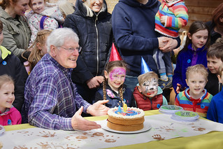 Peter Purves at Belton House