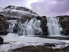 Kirkjufellsfoss - Waterfalls of Kirkjufell - Iceland (Elanor82) Tags: canon eos 5d mark3 mrk3 mk3 iceland islanda island islinda kirkjufell kirkjufellsfoss waterfalls cascate mountain montagna ice ghiaccio winter inverno sunset tramonto sky cielo clouds novule landscape paesaggio panorama