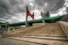Bilbao - Vacanze 2017 (auredeso) Tags: bilbao spagna espana ponte bridge hdr tonemapping nikon d7100 tokina vacanze 2017 nikond7100 tokina1116 salve lasalvebridge lasalve