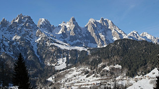 The southern sector of the Pala group (Dolomites)