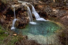 Waterfall Ruidera (Peideluo) Tags: waterfall longexposure largaexposicion naturaleza paisaje lagunas de ruidera roca agua cascada