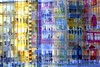 skyscraper (Hilarywho) Tags: superimposed layered collage skyscraper nycbuilding watercolor composite
