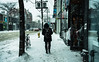 Graffiti Alley - Snow (Katherine Ridgley) Tags: toronto city downtown urban streetphotography street stock west people person walk walking store storefront business businesses snow winter cold weather slush falling fallingsnow stockphotography season seasonal