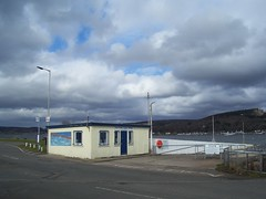 Old Ferry Ticket Office, Merkinch, Inverness, March 2018 (allanmaciver) Tags: old ferry ticket office merkinch south kessock times remember memories white pier allanmaciver inverness highlands scotland