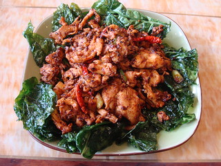 Chicken in Sichuan Sauce